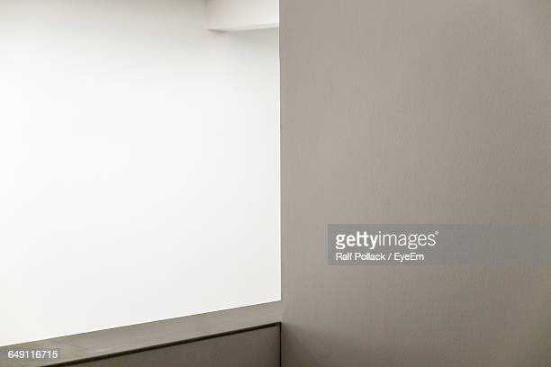 White Wall In Room Of House