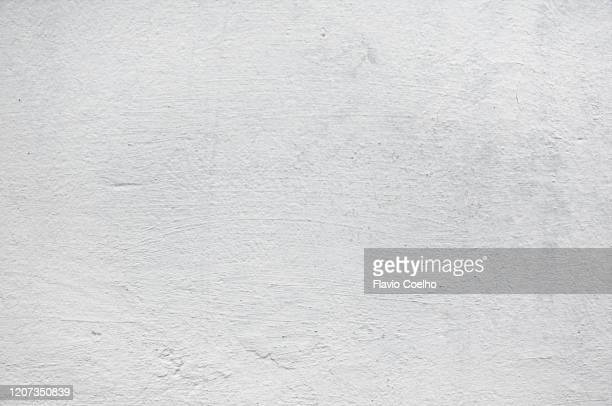 white wall texture surface background - paint textures stock pictures, royalty-free photos & images