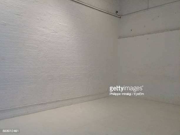 White Walls In Empty Room