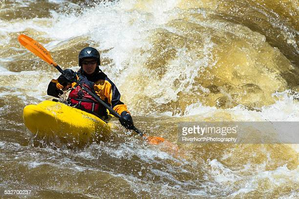 white water kayaking, colorado - fort collins stock pictures, royalty-free photos & images