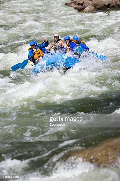Rafting en eau vive dans le Colorado