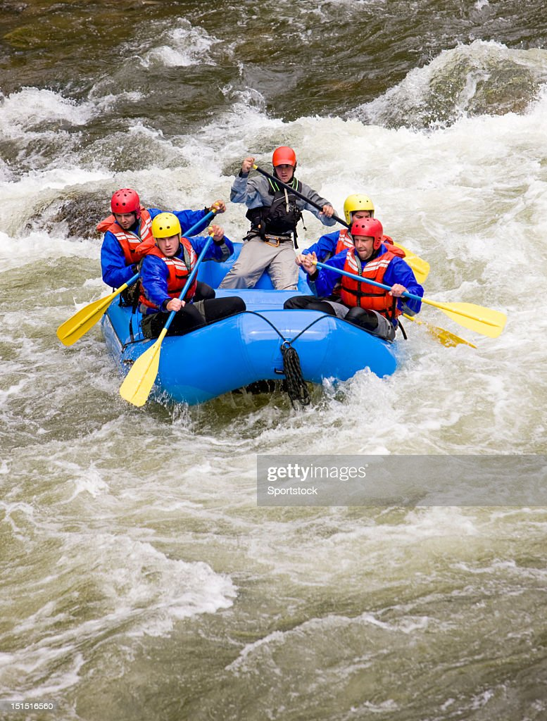 Rafting no Colorado : Foto de stock
