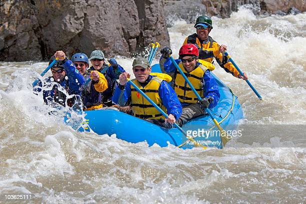 White water rafting on the Owyhee River