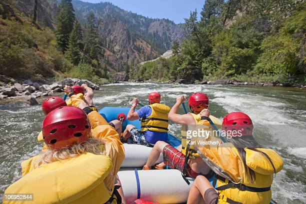 White water rafting on the Payette River