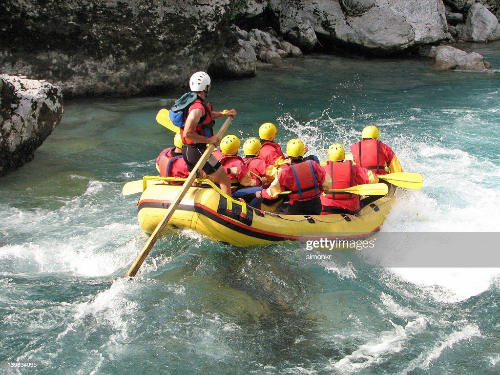 rafting de água : Foto de stock