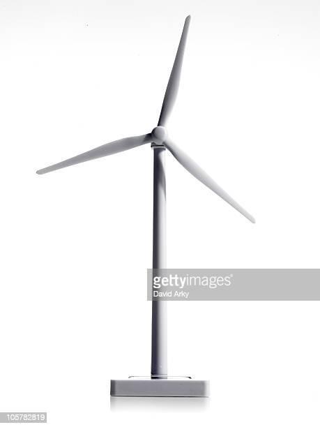 white windmill - energia aeólica - fotografias e filmes do acervo