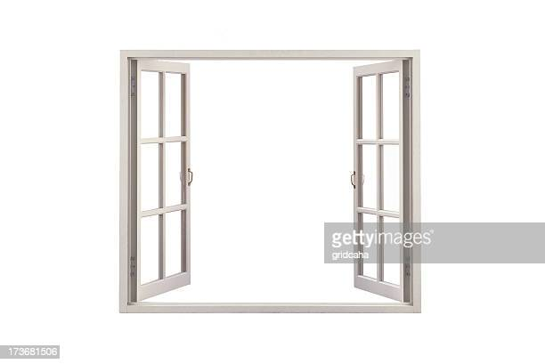 white window - window stock pictures, royalty-free photos & images