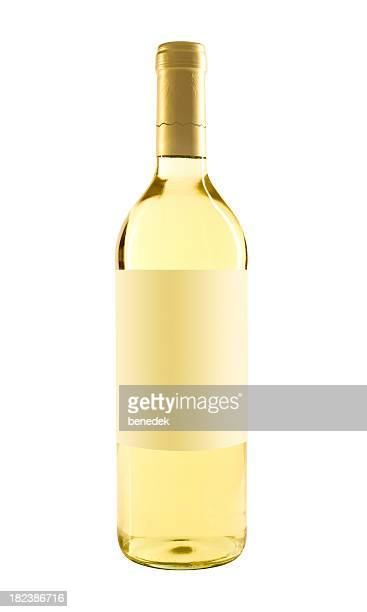 white wine bottle - white wine stock pictures, royalty-free photos & images
