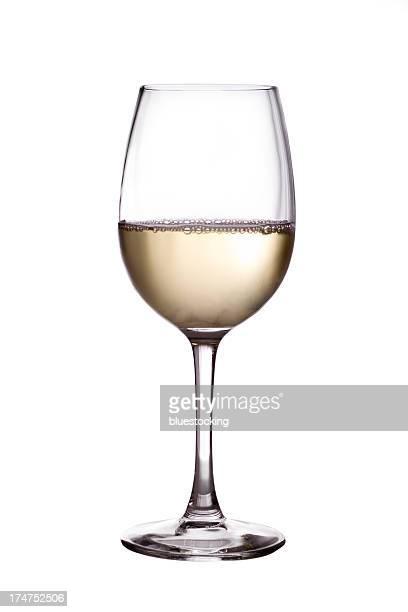 White Wein Glas