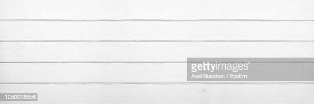 white wood background in wide banner or header format - white wood stock pictures, royalty-free photos & images