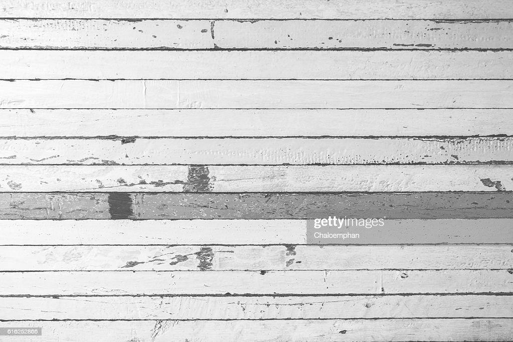 White Wood background : Foto de stock