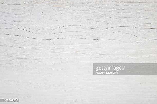white wood board texture background - 白塗りの木材 ストックフォトと画像