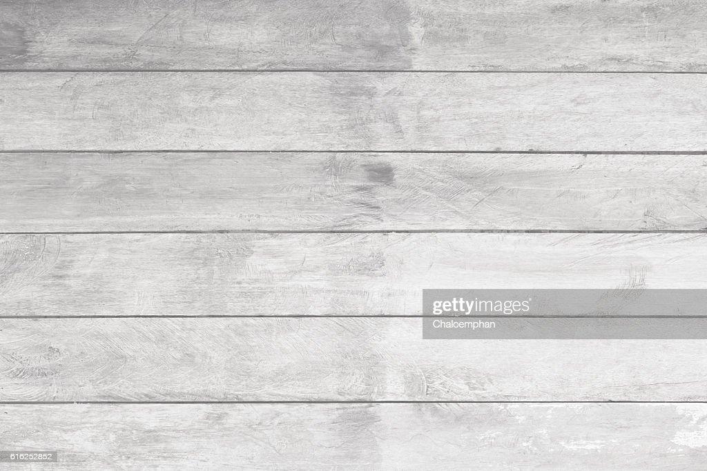 White wood panel : Stock Photo