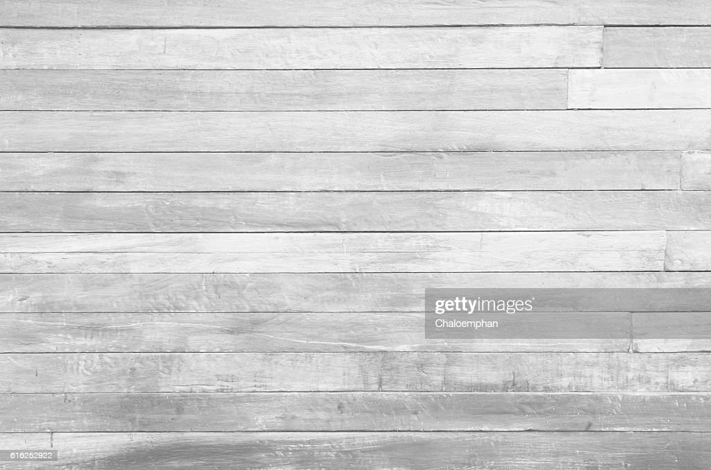 White wood panel : Foto de stock