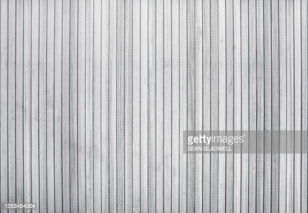 white wood panels - striped stock pictures, royalty-free photos & images