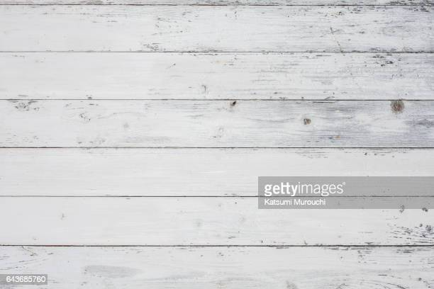 White wood textures background