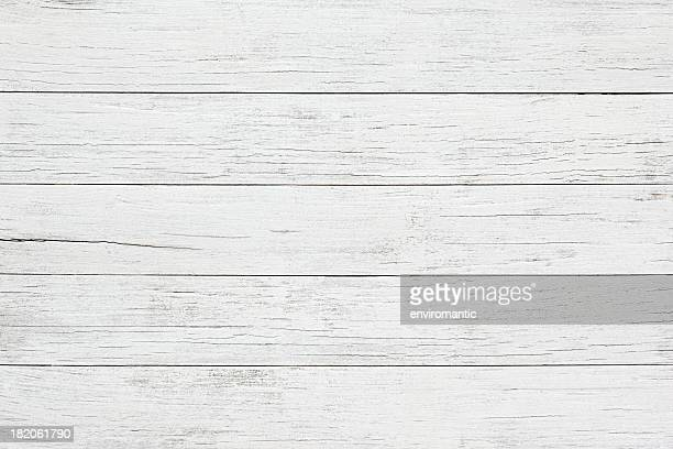 white wooden board background - tafel stockfoto's en -beelden