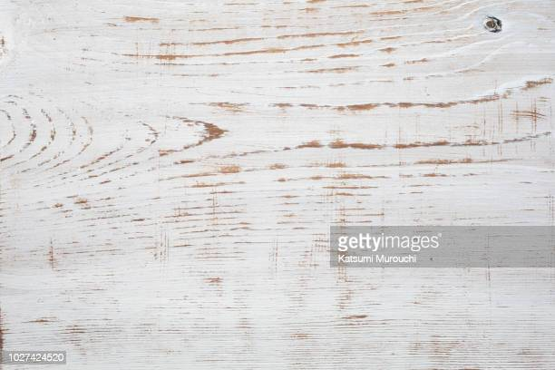 white wooden board texture background - rústico fotografías e imágenes de stock
