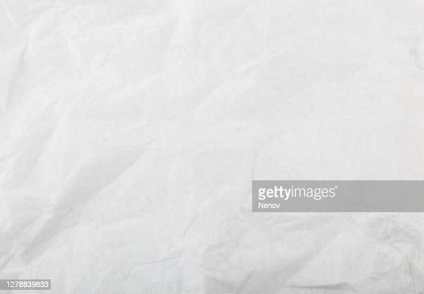 white wrinkle paper texture background - paper stock pictures, royalty-free photos & images