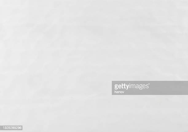 white wrinkle paper texture background - newspaper stock pictures, royalty-free photos & images