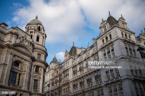 whitehall architecture - whitehall london stock photos and pictures