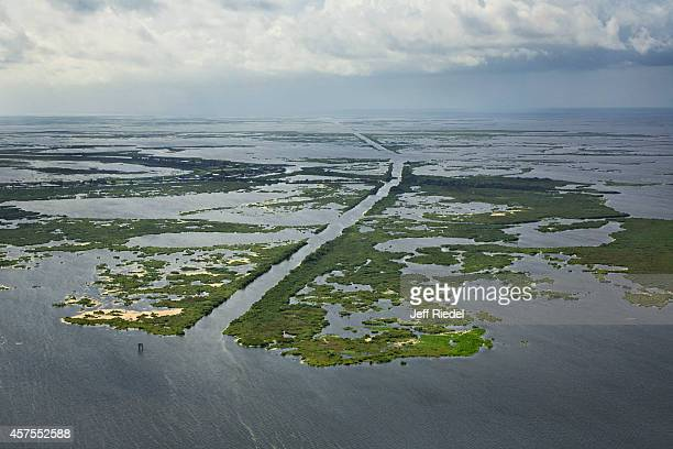 Whitehall Canal in the BaratariaTerrebonne estuary is photographed for New York Times Magazine on September 1 2014 in Louisiana PUBLISHED IMAGE