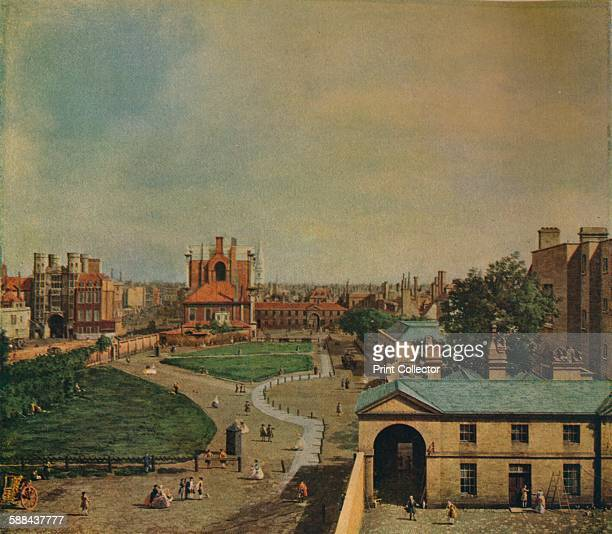 Whitehall from Richmond House' 1746 Painting held at Goodwood House Chichester From The Studio Volume 83 Artist Canaletto