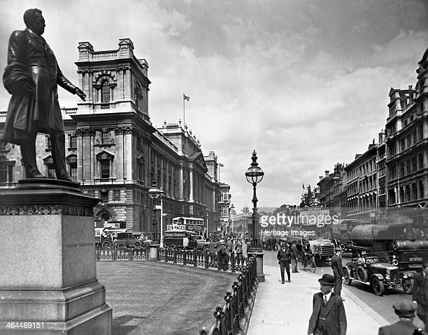 Whitehall seen from Parliament Square City of Westminster London