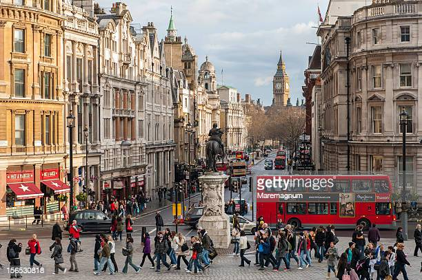 whitehall street - whitehall london stock pictures, royalty-free photos & images