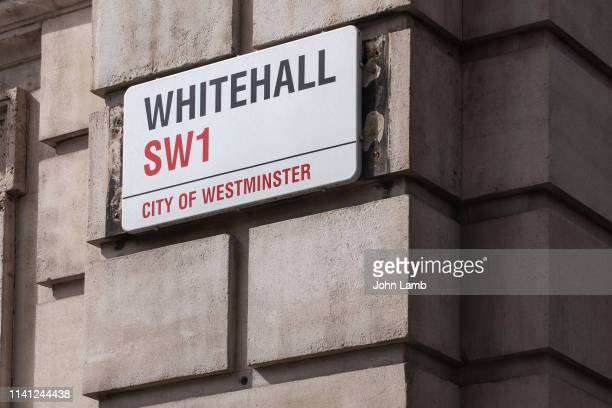 whitehall street sign.close-up. - whitehall london stock pictures, royalty-free photos & images