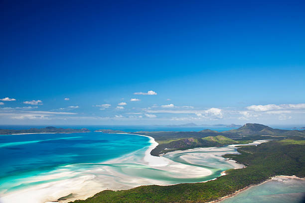 Whitehaven Beach And Hill Inlet Wall Art