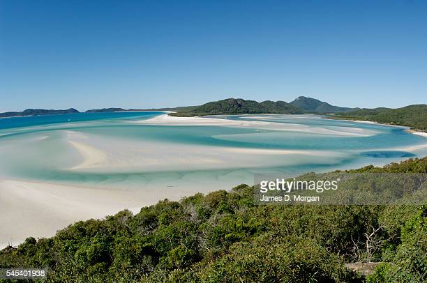 Whitehaven Beach on May 9 2009 in Whitsunday's Queensland Australia