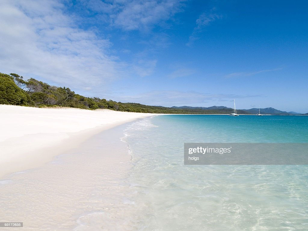 Whitehaven beach : Stock Photo
