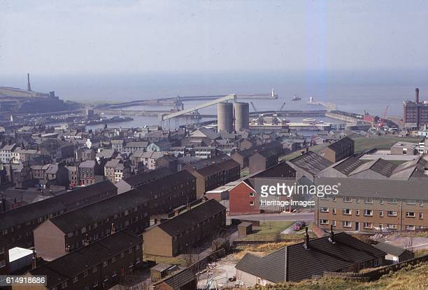 Whitehaven, Harbour from the East, Cumberland, 20th century. Town and port on the coast of Cumbria, England. Historically a part of Cumberland....