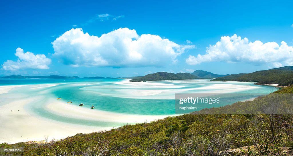 Whiteheaven beach : Stock Photo