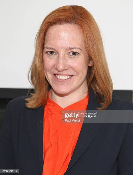 Whitehouse Communications Director, Jen Psaki attends the Glamour and Facebook brunch to discuss sexism in 2016, during WHCD Weekend at Kinship on...