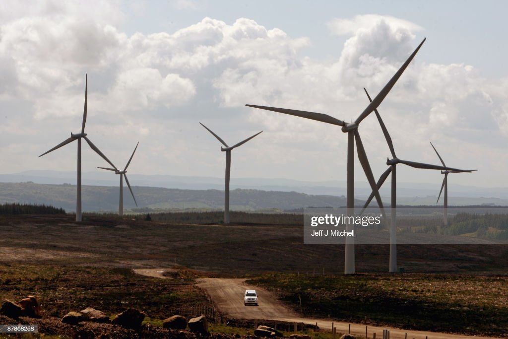 Europe's Largest Onshore Wind Farm Is Switched On : News Photo