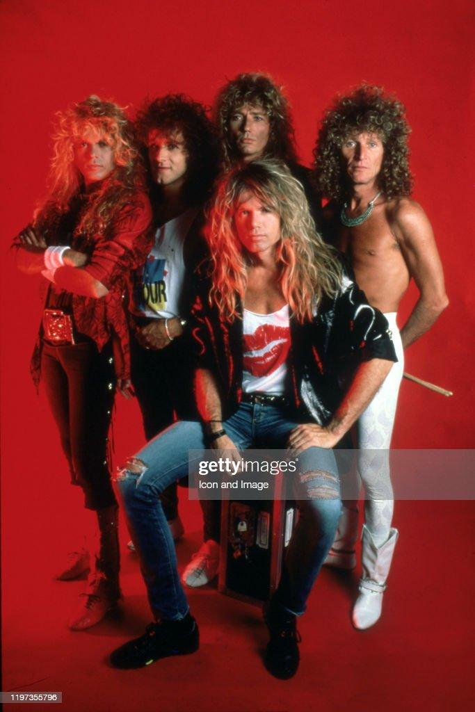 Whitesnake Portrait Session : News Photo