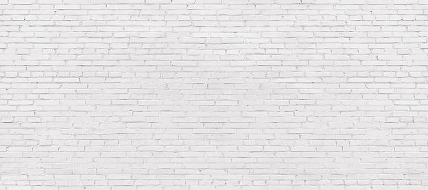 whitewashed brick wall, light brickwork background for design. White masonry 871844536