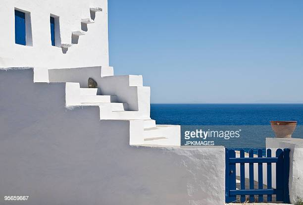 Whitewashed house in Greece
