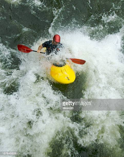 whitewater kayaking - tennessee stock pictures, royalty-free photos & images