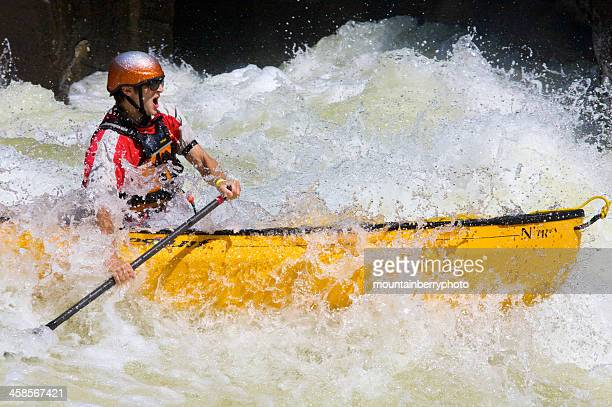 whitewater on the gauley - swift river stock photos and pictures