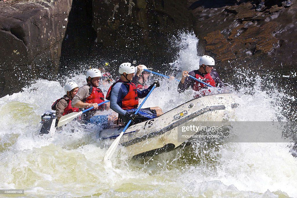 Whitewater on The Gauley : Stock Photo