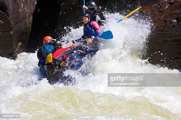 rafting en el gauley - río swift fotografías e imágenes de stock