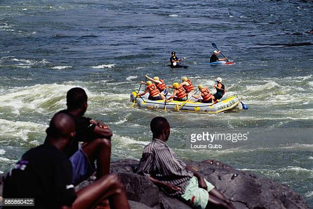 Whitewater Rafting in Victoria Falls National Park