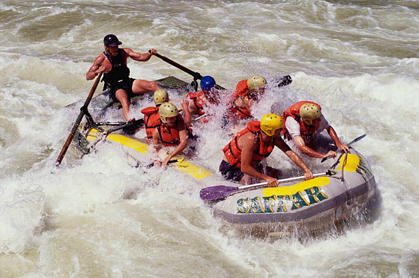 whitewater rafting in victoria falls national park pictures getty