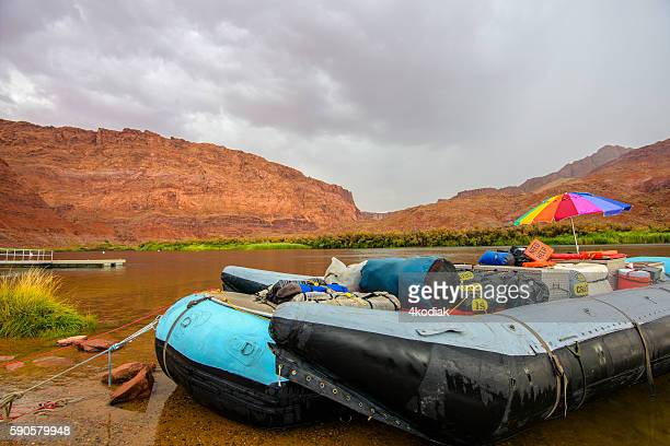 Whitewater rafting on Colorado River