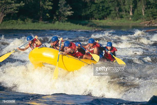 Whitewater rafting on the Ottawa River , Ottawa , Canada