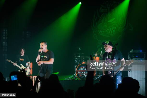 Whitfield Crane from Ugly Kid Joe performs at Le Bataclan on May 5 2018 in Paris France