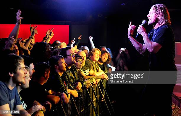 Whitfield Crane of Ugly Kid Joe performs at Manchester Academy on October 24 2013 in Manchester England